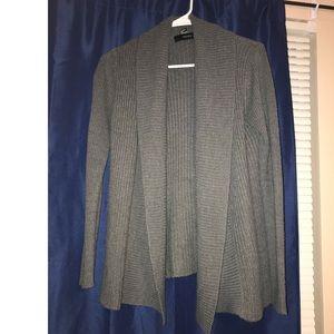 Grey forever 21 cardigan